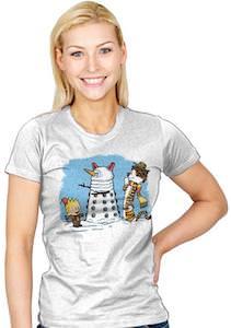 Doctor Who Dalek Snowman T-Shirt