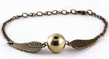 Quidditch Golden Snitch Bracelet