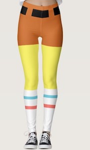 SpongeBob Costume Leggings