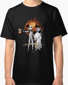 The Nightmare Before Christmas Meets Star Wars Halloween T-Shirt