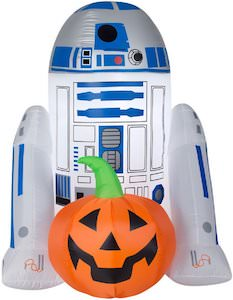 R2-D2 Halloween Inflatable