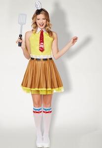 Women's SpongeBob Dress Costume