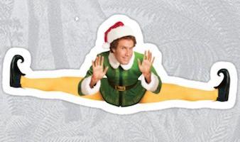 Buddy Elf Christmas Sticker