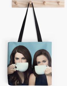 Lorelai And Rory Tote Bag