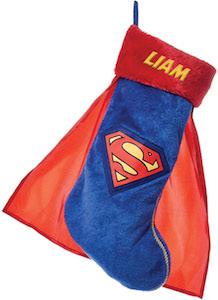 Personalized Superman Stocking