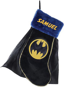 Personalized Batman Stocking