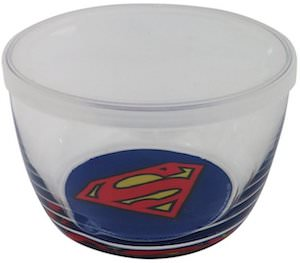 Glass Superman Storage Container