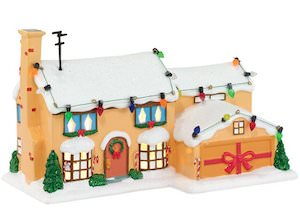 Simpsons Christmas Village.Christmas Village Simpsons House From Department 56