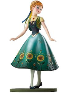 Anna In Sunflower Outfit Figurine