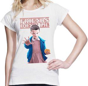 Stranger Things Friends Don't Lei T-Shirt