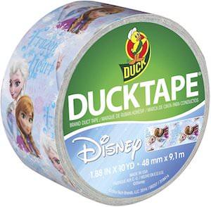 Frozen Anna And Elsa Duck Tape