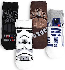 4 Pairs Of Star Wars Socks