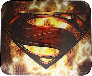 Superman Man Of Steel Mousepad