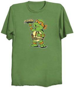 TMNT Little Michelangelo T-Shirt