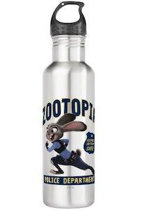 Judy Hopps Zootopia Police Department Water Bottle