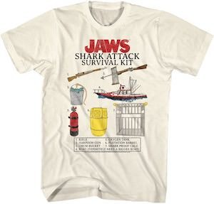 Jaws Survival Kit T-Shirt