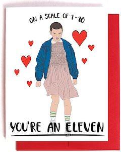 Stranger Things Love Card