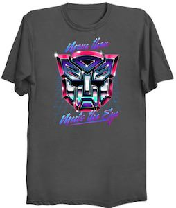 Autobot More Than Meets The Eye T-Shirt