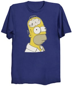 Inside The Brain Of Homer T-Shirt