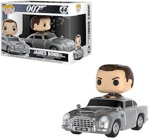 James Bond In Auston Martin Figurine