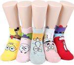 SpongeBob Character Socks