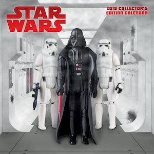 2019 Star Wars Collectors Edition Wall Calendar