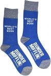 Dunder Mifflin Best Boss Socks from The Office
