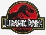 Jurassic Park Logo Pin