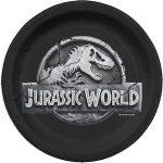 Jurassic World paper plates