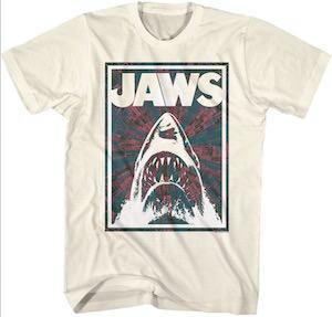 Negative Jaws Shark T-Shirt