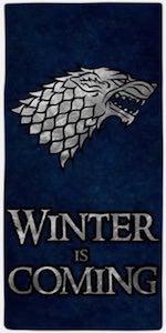 Thrones Winter Is Coming Beach Towel