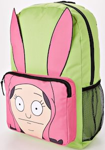 Louise Pink And Green Backpack