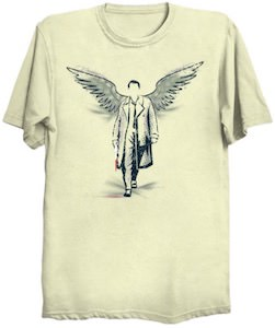 Supernatural Castiel And His Wings T-Shirt