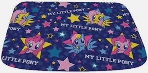 MLP Stars Bath Mat