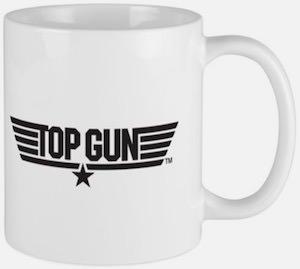 Top Gun Logo Mug