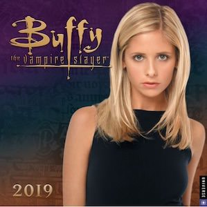 2019 Buffy The Vampire Slayer Wall Calendar