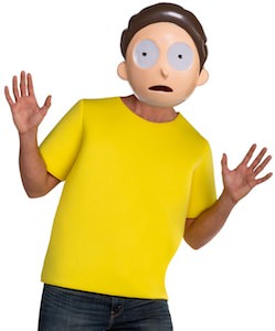 Adult Morty Costume