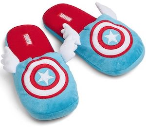 Captain America Slippers With Wings