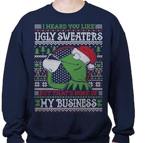 Kermit The Frog Christmas Sweater