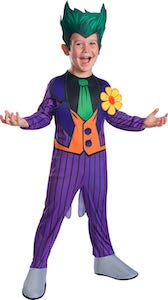 DC Comics The Joker Costume For Kids