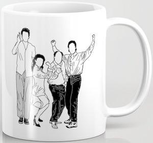 Seinfeld Faceless Coffee Mug