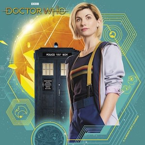 2019 13th Doctor Who Wall Calendar