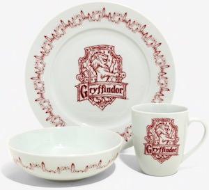 Gryffindor Dinnerware Set