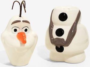 Olaf Salt And Pepper Shaker Set