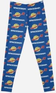 Spaceship Spaceship LEGO Movie Leggings