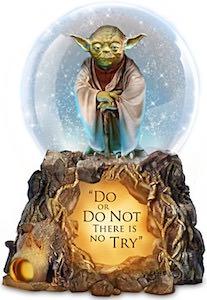 Yoda Snow Globe