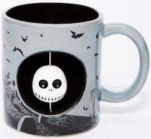 The Nightmare Before Christmas Jack Skellington Spinner Mug