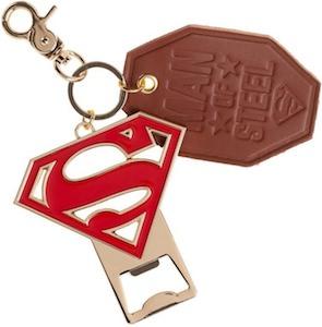 Superman Bottle Opener Key Chain