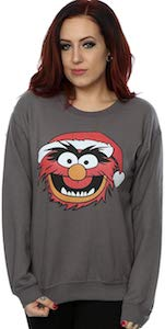 The Muppets Animal Christmas Sweater