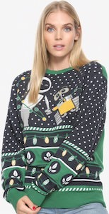 Wall-E And Eve Christmas Sweater - THLOG 1fd46fd4d